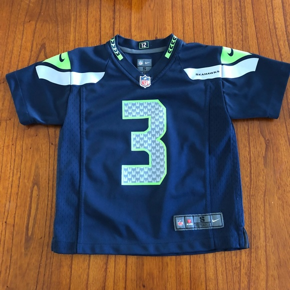 lowest price 12692 060a1 Nike Shirts & Tops | Youth Seattle Seahawks Russell Wilson ...
